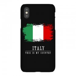 This is my country - Italy iPhoneX Case | Artistshot