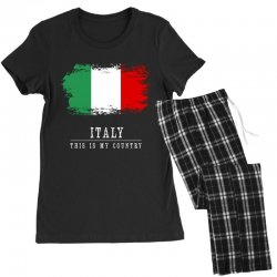 This is my country - Italy Women's Pajamas Set | Artistshot