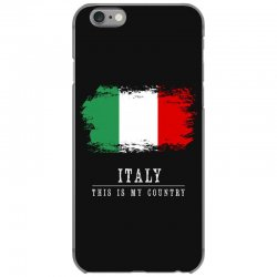 This is my country - Italy iPhone 6/6s Case | Artistshot