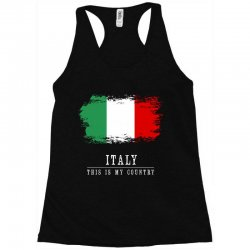 This is my country - Italy Racerback Tank | Artistshot