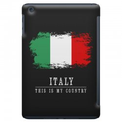This is my country - Italy iPad Mini Case | Artistshot