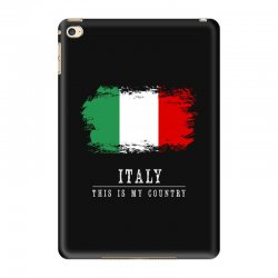 This is my country - Italy iPad Mini 4 Case | Artistshot