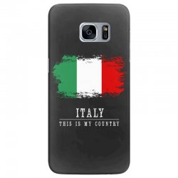 This is my country - Italy Samsung Galaxy S7 Edge Case | Artistshot