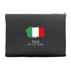 This is my country - Italy Accessory Pouches | Artistshot