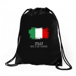 This is my country - Italy Drawstring Bags | Artistshot
