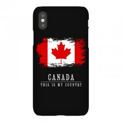 This is my country - Canada iPhoneX Case | Artistshot