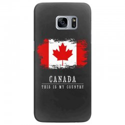This is my country - Canada Samsung Galaxy S7 Edge Case | Artistshot
