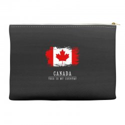 This is my country - Canada Accessory Pouches | Artistshot