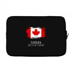 This is my country - Canada Laptop sleeve | Artistshot