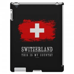 This is my country - Switzerland iPad 3 and 4 Case | Artistshot