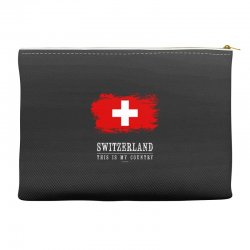 This is my country - Switzerland Accessory Pouches | Artistshot