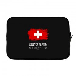This is my country - Switzerland Laptop sleeve | Artistshot