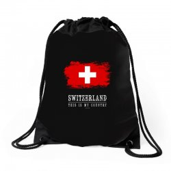 This is my country - Switzerland Drawstring Bags | Artistshot