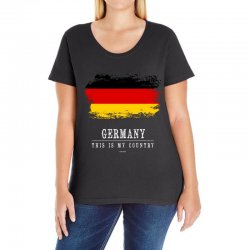 This is my country - Germany Ladies Curvy T-Shirt | Artistshot