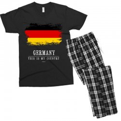 This is my country - Germany Men's T-shirt Pajama Set | Artistshot