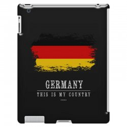 This is my country - Germany iPad 3 and 4 Case | Artistshot
