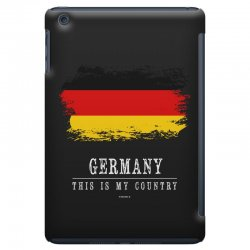 This is my country - Germany iPad Mini | Artistshot