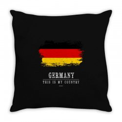 This is my country - Germany Throw Pillow | Artistshot