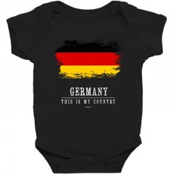 This is my country - Germany Baby Bodysuit | Artistshot