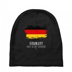 This is my country - Germany Baby Beanies | Artistshot