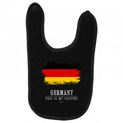 This is my country - Germany Baby Bibs | Artistshot