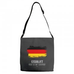 This is my country - Germany Adjustable Strap Totes | Artistshot