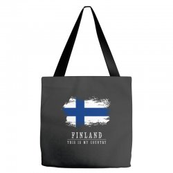 This is my country - Finland Tote Bags | Artistshot