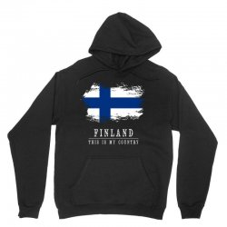 This is my country - Finland Unisex Hoodie | Artistshot