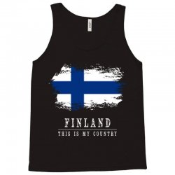 This is my country - Finland Tank Top | Artistshot