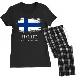 This is my country - Finland Women's Pajamas Set | Artistshot