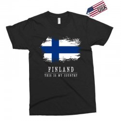This is my country - Finland Exclusive T-shirt | Artistshot