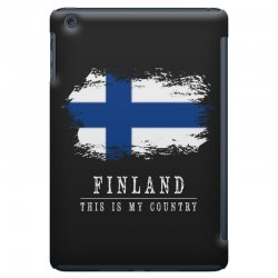 This is my country - Finland iPad Mini | Artistshot