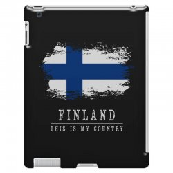 This is my country - Finland iPad 3 and 4 Case | Artistshot