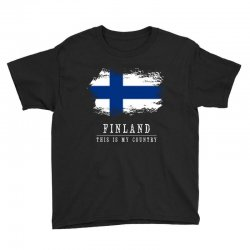 This is my country - Finland Youth Tee | Artistshot