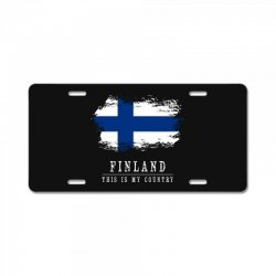 This is my country - Finland License Plate | Artistshot