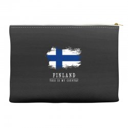 This is my country - Finland Accessory Pouches | Artistshot