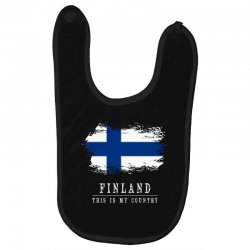 This is my country - Finland Baby Bibs | Artistshot
