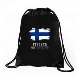 This is my country - Finland Drawstring Bags | Artistshot