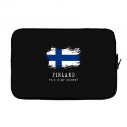 This is my country - Finland Laptop sleeve | Artistshot