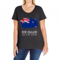This is my country - New Zealand Ladies Curvy T-Shirt | Artistshot