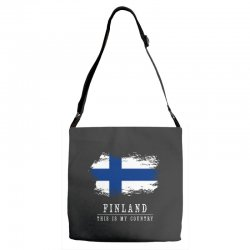 This is my country - Finland Adjustable Strap Totes | Artistshot