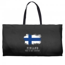 This is my country - Finland Weekender Totes | Artistshot