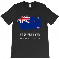 This is my country - New Zealand T-Shirt | Artistshot