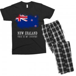 This is my country - New Zealand Men's T-shirt Pajama Set | Artistshot