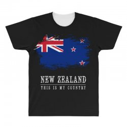 This is my country - New Zealand All Over Men's T-shirt | Artistshot