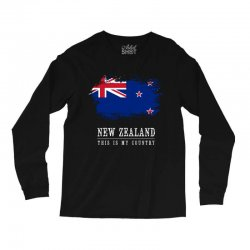 This is my country - New Zealand Long Sleeve Shirts | Artistshot