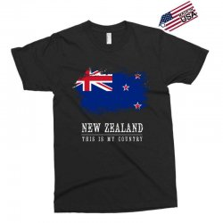 This is my country - New Zealand Exclusive T-shirt | Artistshot