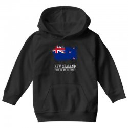This is my country - New Zealand Youth Hoodie | Artistshot