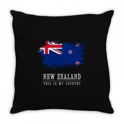 This is my country - New Zealand Throw Pillow | Artistshot