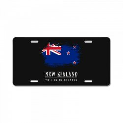 This is my country - New Zealand License Plate | Artistshot